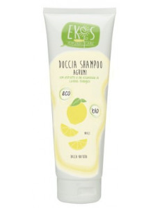 Shower gel-shampoo with lemon, 250ml / EKOS