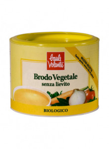 Vegetable broth in granules, yeast-free, palm-oil free, 250g / Baule Volante