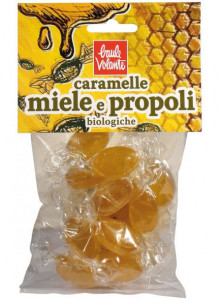 Candies with honey and propolis, 75g / Baule Volante