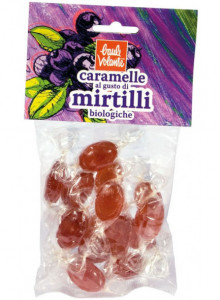 Candies with blueberries, 75g / Baule Volante