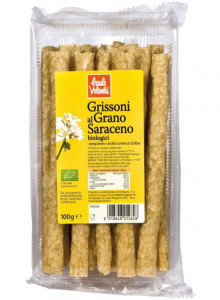 Buckwheat breadsticks, 100g / Baule Volante