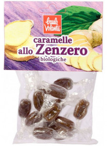 Candies with ginger, 50g / Baule Volante