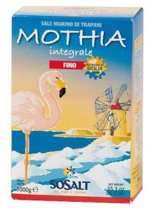 Salt, Sicilian coarse sea salt, 1kg / Baule Volante