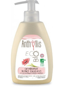 Detegente Intimo Con Estratti di Mirtillo e Calendula, 300ml / Anthyllis