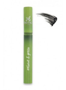 Mascara Volume & Green, black, 6ml / BOHO