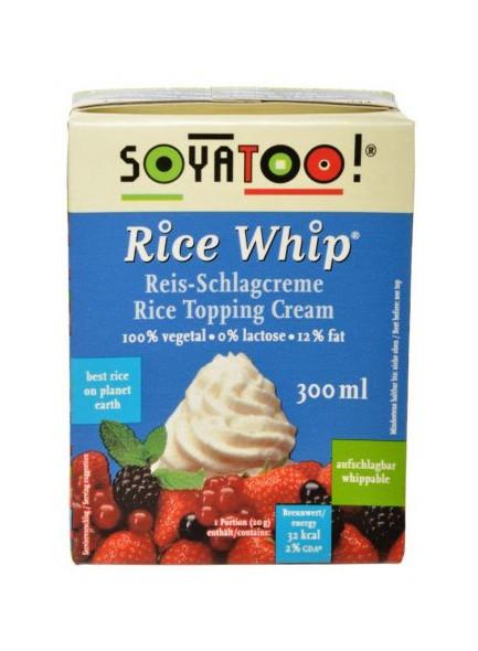 Rice whip cream, 300ml / Soyatoo!