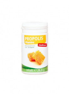 Propolis with vitamins, 60 capsules / Medicura