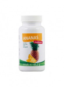 Pineapple + vitamins, 60 capsules / Medicura