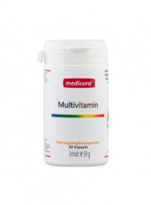 Vitamiinide ja mineraalide kompleks, 60tk / Medicura