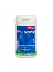 Maca Guarana, 60 capsules / Medicura