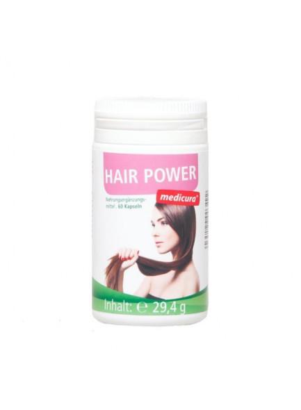 Hair Power, 60 capsules / Medicura