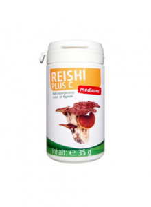 Reishi with vitamin C, 60 capsules / Medicura