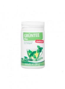 Supplemento dietetico con il tè verde