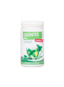 Green Tea Plus diet support, 60 capsules / Medicura