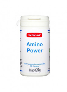 Amino Power, 60 capsules / Medicura