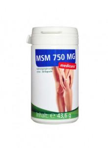 MSM, 50 capsules / Medicura
