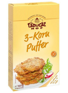 3-Grain Bread Mix Buffer 160g / Bauckhof