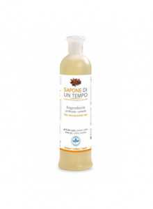 Purifying shower gel with orange and anice, 500ml / Sapone di un Tempo