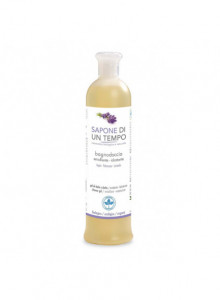 Moisturizing shower gel with palmarosa and lavender, 500ml / Sapone di un Tempo