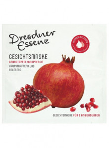 Face mask pomegranate, 2x6ml / Dresdner Essenz