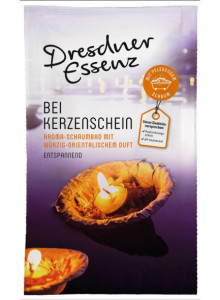 "Bubble bath ""Candlelight"", 40ml / Dresdner Essenz"