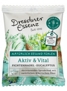 "Sparkling Bath ""Active and vital"", 70g / Dresdner Essenz"