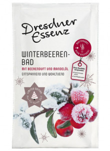"Bath essence ""Winter berries"", 60g / Dresdner Essenz"