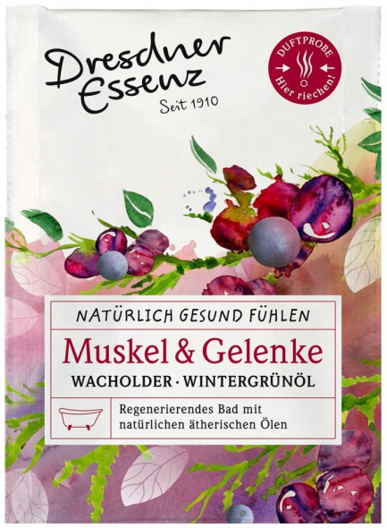Bath essence for muscle relaxation, 60g / Dresdner Essenz