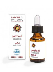 Patchouli essential oil, 15ml / Sapone di un Tempo