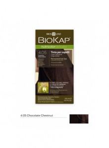 Biokap Nutricolor Delicato 4.05 / šokolaadikastan, püsivärv