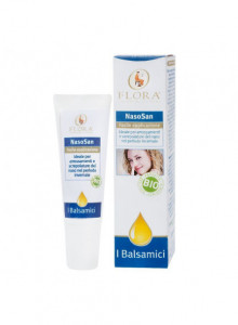 Balsamic ointment for aid breathing, 10ml / Flora