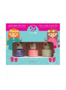 "Nail polish trio kit for kids ""Pretty Me"", 3x9ml / Suncoat"