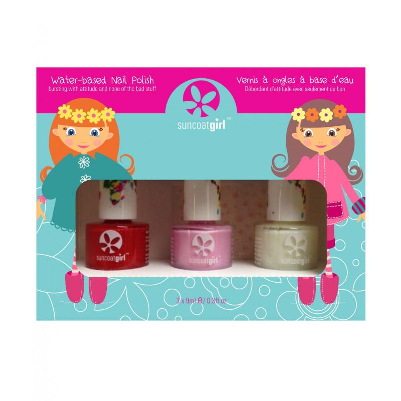 Nail polish trio kit for kids \