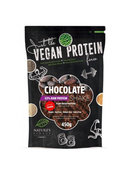 Valgupulber šokolaadi ja steeviaga 63%, 450g / Nutrisslim
