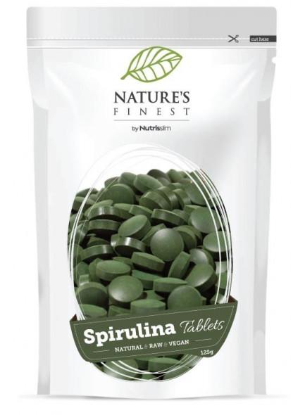 Spirulina tablets 125g / 625pcs,  a´ 0,2g / Nutrisslim