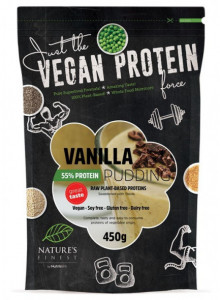 Vanilla 55% Protein Pudding with Stevia, 450g / Nutrisslim