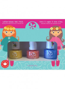 "Nail polish trio kit for kids ""Pretty Me"", 3x9ml / Suncoat"