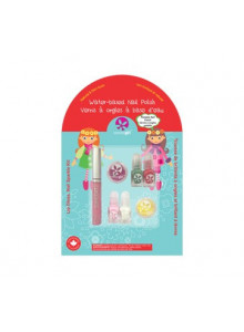 "Nail polish trio kit for kids ""Egg-spiration"", 3x9ml / Suncoat"