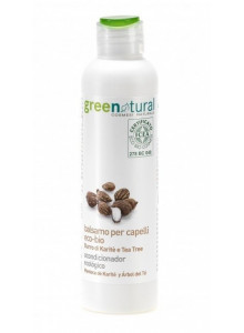Conditioner with shea butter and tea tree, 250ml / GreeNatural