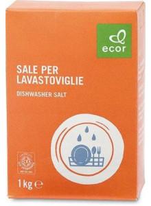 Dishwasher salt, 1kg / Ecor