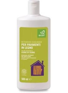 Detersivo ecologico con olio essenziale di cedro per pavimenti in legno, 500ml / Ecor