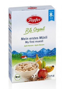 My first muesli, apple-banana, 175g / Töpfer