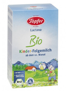 Lactana® Bio Kinder – infant formula from 12 months, 500g / Töpfer
