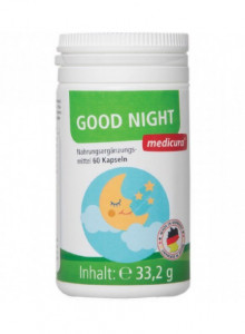 Good Night, 60 capsules / Medicura
