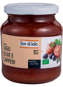 Pasta sauce with olives and capers, 290g / Fior di Loto