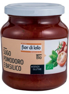 Pasta sauce with basil, 290g / Fior di Loto