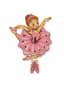 Wall clock, ballet dancer / Bartolucci