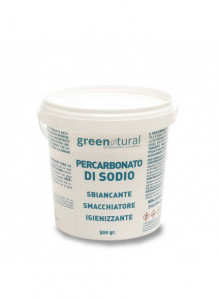 Percarbonato di sodio 100% puro, 500g / Greenatural