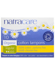 Tampons, regular, 20pcs / Natracare