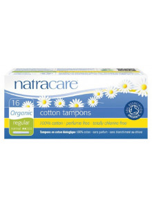 Tampons, regular, 10pcs / Natracare